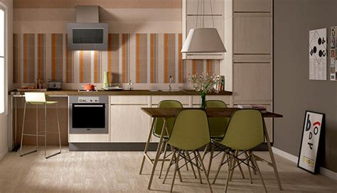 15 Unique Striped Kitchen Ideas   Home Design Lover