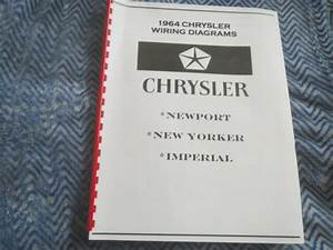 1964 Chrysler Newport New Yorker 300 Wiring Diagrams