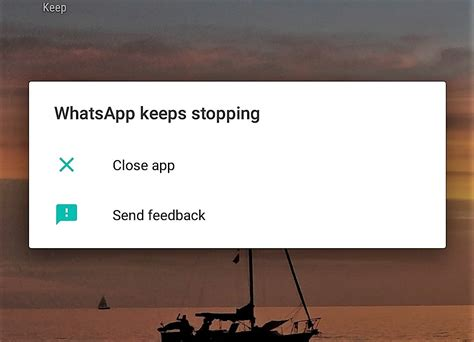 fix whatsapp crashing on android 8 0 oreo