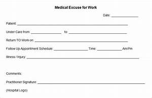 doctors excuse template peerpex With doctors excuse templates for work