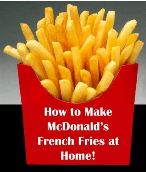 McDonalds Copycat Recipes - Page 8   Mcdonalds fries, Copycat recipes, Mcdonalds copycat recipes
