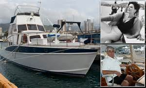 Boat Song Wood by Yacht Where Natalie Wood Mysteriously Drowned Up For Sale