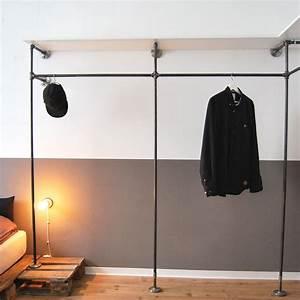 Kleiderschrank Industrial Design : open wardrobe designed by various offener kleiderschrank von various offene garderobe ~ Markanthonyermac.com Haus und Dekorationen