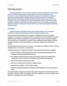 deployment plan template apple iwork pages With software deployment document