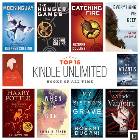 Best All Time Here Are 15 Best Kindle Unlimited Books Of All Time