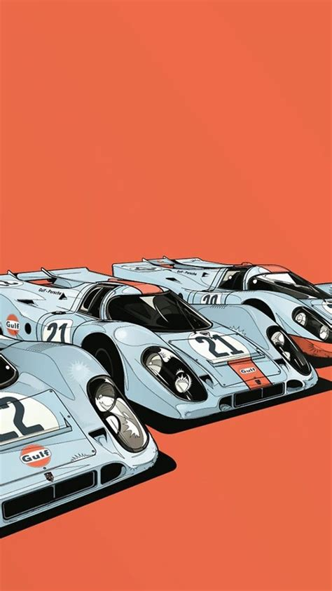 gulf oil japanese porsche  cars wallpaper