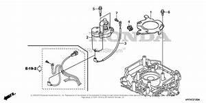 Honda Hrx217k1 Hma Lawn Mower  Usa  Vin  Maga