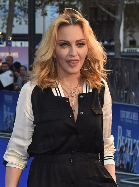 madonna attends   beatles documentary world premiere