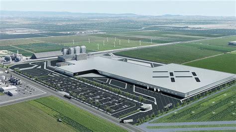 faraday future leases central california factory