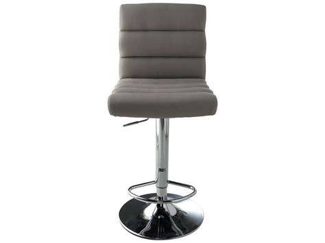 tabouret de bar city coloris taupe vente de bar et tabouret de bar conforama