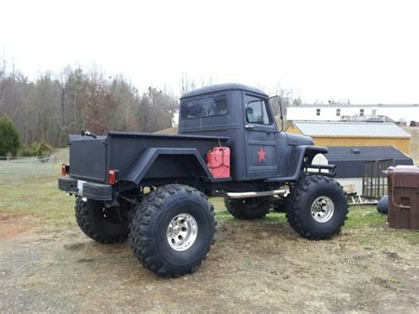 lifted willys jeep truck
