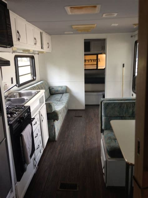 remodeled dutchman camper remodeled campers rv interior