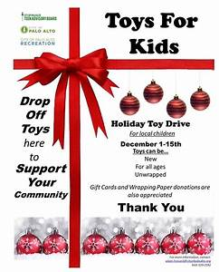 Holiday Toy Drive Flyer Template City Hosting Community Toy Drive The Paly Voice
