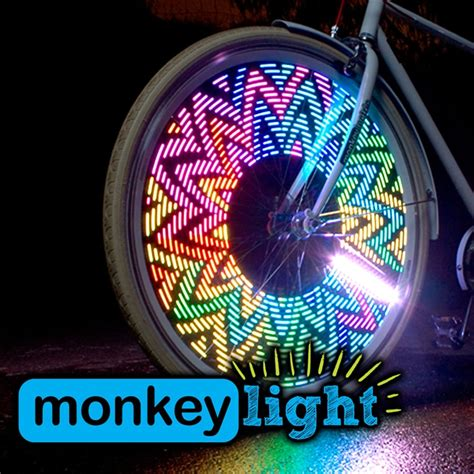 monkey bike lights m232 monkey led bicycle wheel light