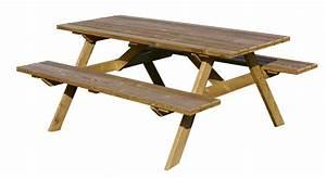 Table Bois Pique Nique : 600002300 table bois pique nique ~ Melissatoandfro.com Idées de Décoration