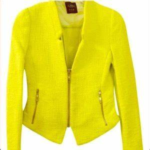 Yellow Zara blazer on Poshmark