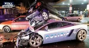 Lamborghini Gallardo LP560-4 Italian Police Car Crashes ...
