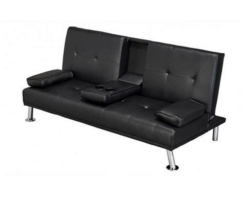 Sofa Bed Cinema by Cinema Fold Sofa Bed Black Faux Leather
