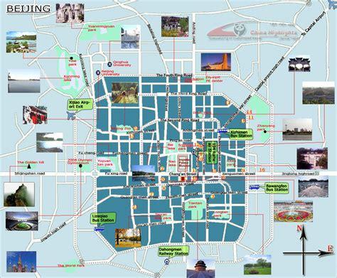 beijing tourism bureau beijing tourism map