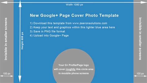cover photo template new plus page cover photo template