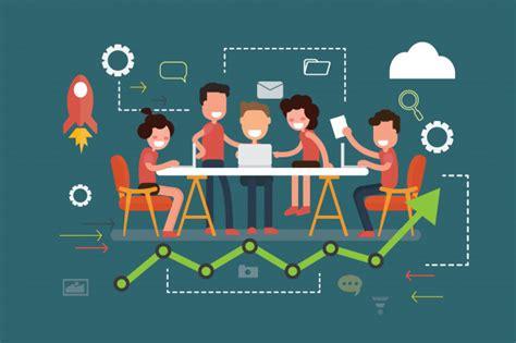 business teamwork meeting  brainstorm concept premium