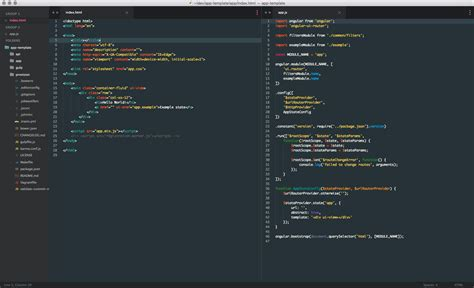 Html Themes Github Willsoto Material Color Scheme Sublime Text