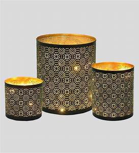 buy logam black gold iron moroccan filigree votive With kitchen cabinets lowes with buy candle holders online