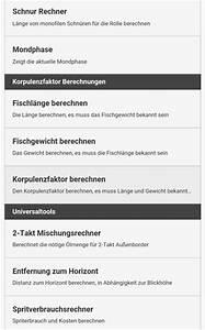 Mondphase Berechnen : angler app tools f r angler ~ Themetempest.com Abrechnung