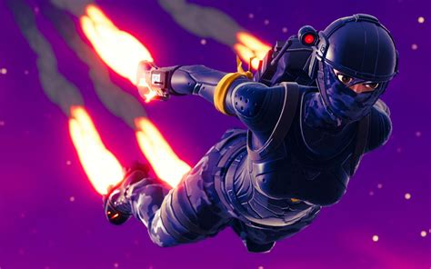 elite agent skydiving fortnite battle royale hd  wallpaper