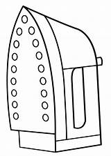 Iron Clothes Coloring Pages sketch template
