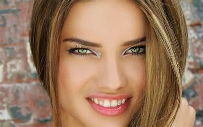 Celebrity Wallpapers Adriana Lima Celeb Eyes Smokey