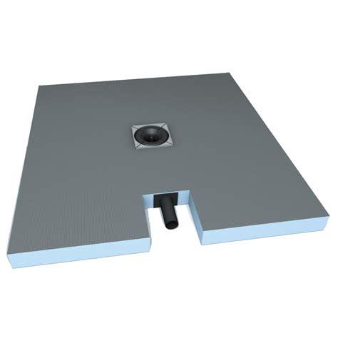 receveur à carreler receveur plano a carreler rectangle 120x90cm avec ecoulement integre