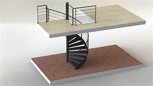Escalier En Colimaçon : escalier h lico dal ~ Mglfilm.com Idées de Décoration