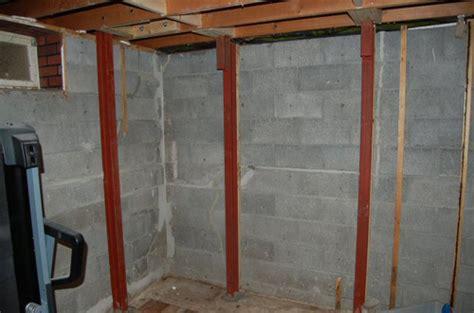 refinishing  flood damaged basement home construction