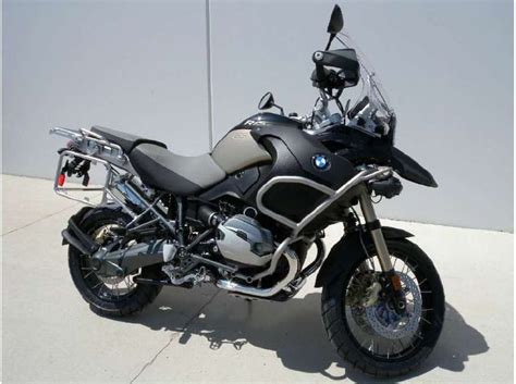 2013 Bmw R 1200 Gs Adventure Triple Black For Sale On 2040