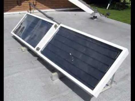 Solar Heating Drapes - diy solar water heating panels