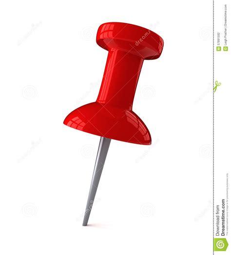punaise de bureau rode plastic punaise stock illustratie afbeelding 57891592