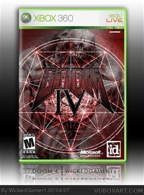 doom  xbox  box art cover  wickedgamer