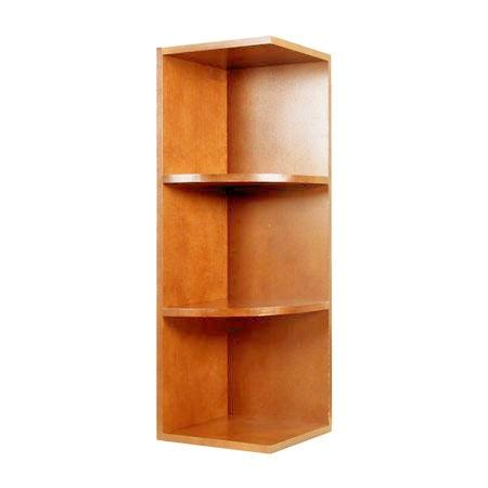 kitchen cabinet end shelf wes1230 haventon maple wall end shelf kitchen cabinets 5395