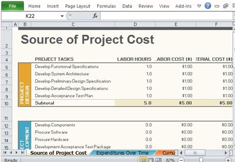 project management templates  excel