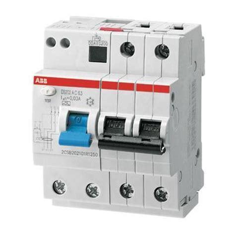 residual current circuit breaker  overcurrent