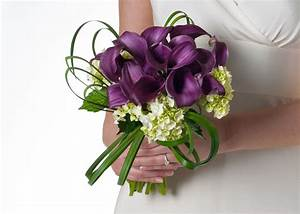 bouquets with asiatic lilies and calla lilies and roses ...
