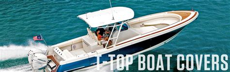 Center Console Boat Covers With T Top by Boat Covers For T Top Boats