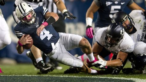 taysom hill injury byu qb   rays  leg