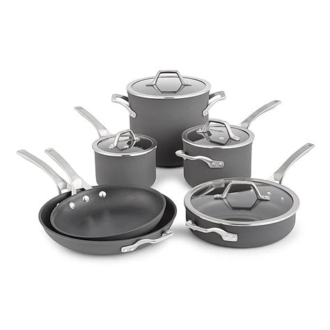 cookware calphalon nonstick signature anodized hard piece grey glass amazon repeeron buying complete guide pots kitchen sets oven cooking stoves