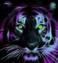 Fractal Fire Ice Tigers Tattoo Ideas Pinterest