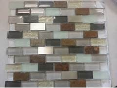 Smart Tiles 910 In X 1020 In Mosaic Adhesive Decorative Wall Tile Backspl