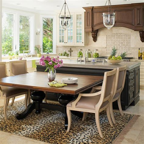 kitchen island with table extension remodel chicagoland amazing kitchen island ideas