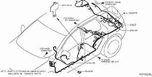 Nissan Murano Harness Door   Right  Front   Body  Engine