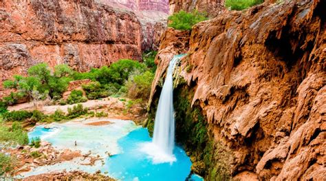 Living In The Grand Canyon Supai Village Grand Canyon